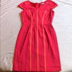 Antonio Melani pink and orange dress